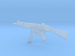 1:6 Miniature Heckler & Koch MP5 in Smooth Fine Detail Plastic