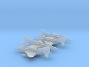McDonnell Douglas F-4E Phantom II in Smooth Fine Detail Plastic: 1:500
