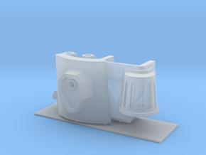 Wrist mounted Twin linked bolters for Imperial Kni in Smooth Fine Detail Plastic
