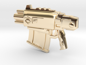 Bolter v1 in 14k Gold Plated Brass
