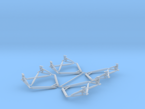 Truss assembly in Smooth Fine Detail Plastic