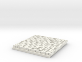 Printle Thing Sidewalk 2 - 1/24 in White Natural Versatile Plastic