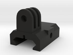 Go Pro mount weaver/ris rail in Black Natural Versatile Plastic