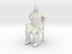 Printle C Femme 424 - 1/20 - wob in White Natural Versatile Plastic