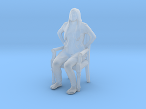 Printle C Femme 424 - 1/50 - wob in Smooth Fine Detail Plastic