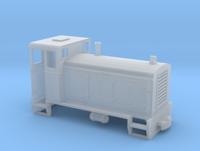 Locotracteur 3 Egypte HOe in Smooth Fine Detail Plastic