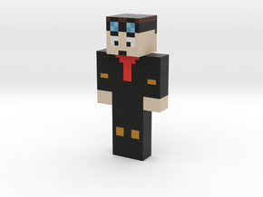 Minicoopstar11 | Minecraft toy in Natural Full Color Sandstone