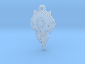 World Of Warcraft Horde Pendant all materials in Smooth Fine Detail Plastic