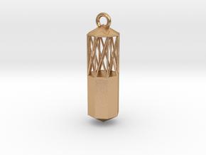 Pendulum  in Natural Bronze