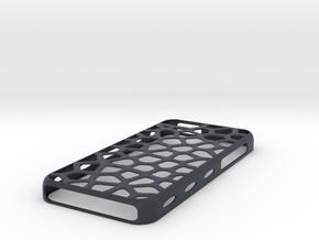 """case iphone 5c """"leopard"""" in Black PA12"""