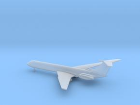 Ilyushin Il-62 Classic in Smooth Fine Detail Plastic: 1:500