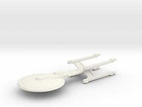 Excelsior 4 Nacelle Concept in White Natural Versatile Plastic