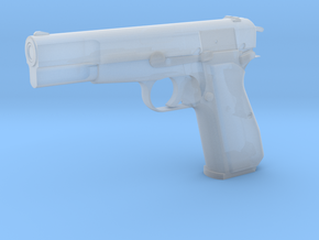 1:3 Miniature Browning P35 in Smooth Fine Detail Plastic