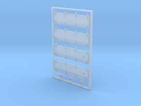 FAU00-200-01 Seitenklappen Platine in Smooth Fine Detail Plastic