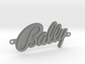 Bally Badge in Gray PA12