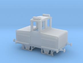 Accumulator model locomotive scale 1/87 in Smooth Fine Detail Plastic