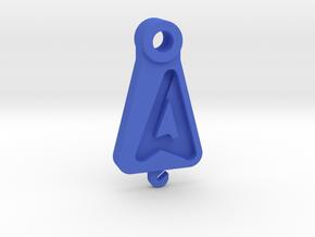 03-8090 - Flat Cam in Blue Processed Versatile Plastic