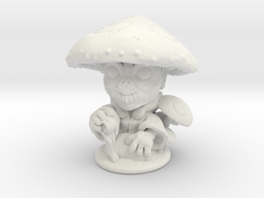 Forest Gnome 28mm in White Natural Versatile Plastic