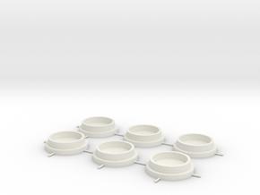 CNewCaps in White Natural Versatile Plastic