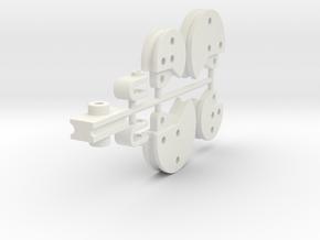 Full Die Set in White Natural Versatile Plastic