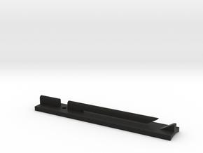 Rey Ep 9 Lightsaber Belt Clip Grip in Black Premium Versatile Plastic