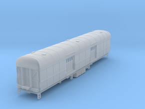 N-scale (1/160) N&W BeK Baggage Car with roof vent in Smoothest Fine Detail Plastic