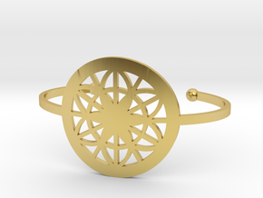 Bracelet in Polished Brass