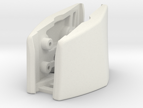 G230 (L&R Outside Bracket Joined) in White Natural Versatile Plastic