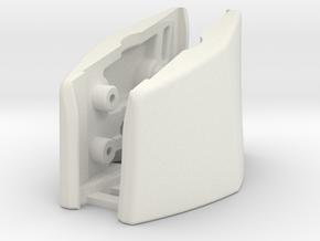 G230 (L&R Outside Bracket Joined) in White Natural Versatile Plastic
