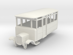 o-64-dv-5-3-ford-railcar in White Natural Versatile Plastic