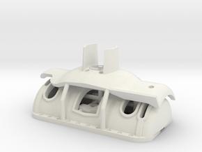 1/16 M4a1 Sherman Manlet in White Natural Versatile Plastic