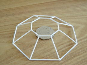 Thargoid Wireframe 1-600 in White Natural Versatile Plastic