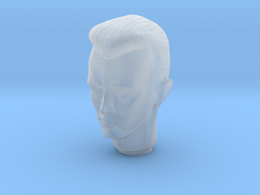1/6 Terminator Head Sculpt for Action Figures in Smooth Fine Detail Plastic
