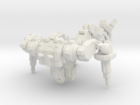 Nova Mechanized Walker System - Blast Cannon Varia in White Natural Versatile Plastic
