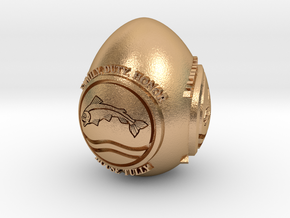 GOT House Tully Easter Egg in Natural Bronze