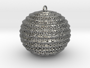 foram sphere in Natural Silver