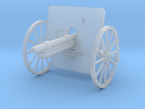 EQ24E Ehrhardt 7.5cm M1901 Field Gun (1/72) in Smooth Fine Detail Plastic