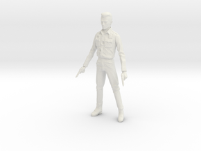 1/10 Terminator T1000 in White Natural Versatile Plastic