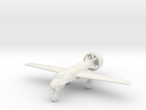 (1:144) Heinkel He P.1074 Höhenjäger (Ducted fan) in White Natural Versatile Plastic
