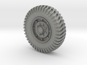Humber Armored Car Tire 1:24 Scale in Gray PA12