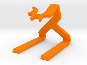 Support in Orange Processed Versatile Plastic