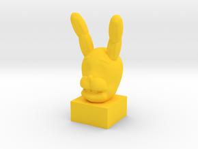 SpringBonnie Head in Yellow Processed Versatile Plastic