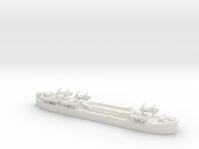 Landing Ship tank MK 2 LST 1/800  3 in White Natural Versatile Plastic