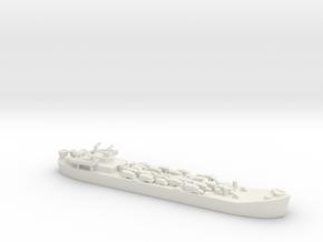 Landing Ship tank MK 2 LST 1/800  7 in White Natural Versatile Plastic