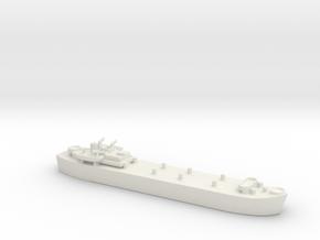 Landing Ship tank MK 3 LST 1/800 in White Natural Versatile Plastic