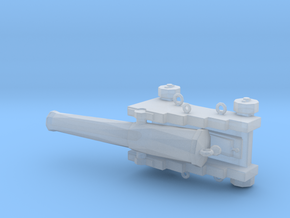 1/72 Scale 32 Pounder M1829 on Naval Carriage in Smooth Fine Detail Plastic