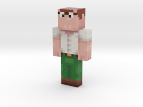 blue_boye | Minecraft toy in Natural Full Color Sandstone