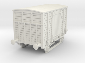 a-87-dwwr-ashbury-13-6-covered-wagon in White Natural Versatile Plastic