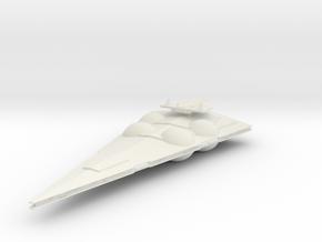 5000 Imperial Interdictor Star Wars in White Natural Versatile Plastic