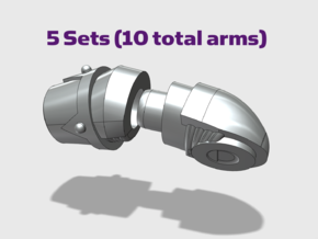 Adjustable Arms : Chaos in Smooth Fine Detail Plastic: Small